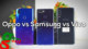 Vivo V11i vs Samsung Galaxy A7 (2018) vs Oppo F9 (F9 Pro)